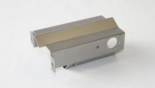 industrial sheet metal component