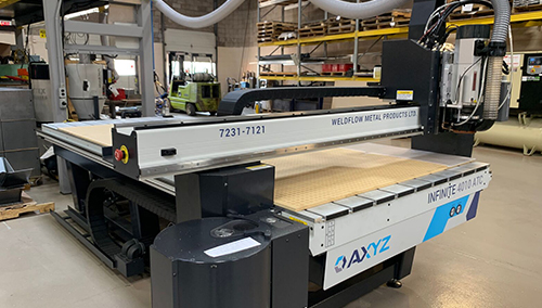 CNC metal laser cutting